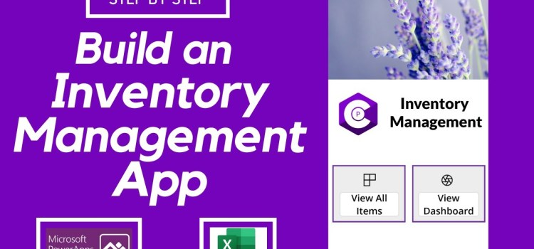 Build an Inventory Management App using PowerApps