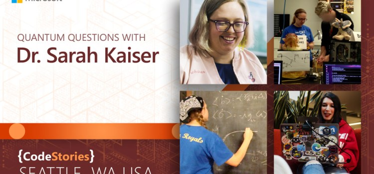 Quantum Questions with Dr. Sarah Kaiser