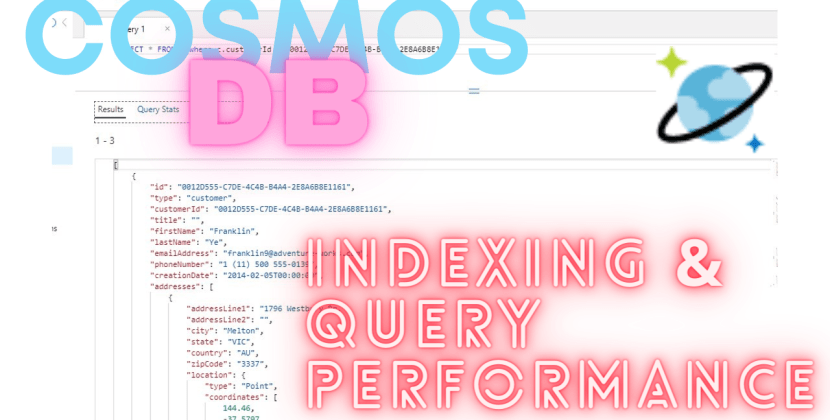 Azure Cosmos DB Indexing & Query Performance