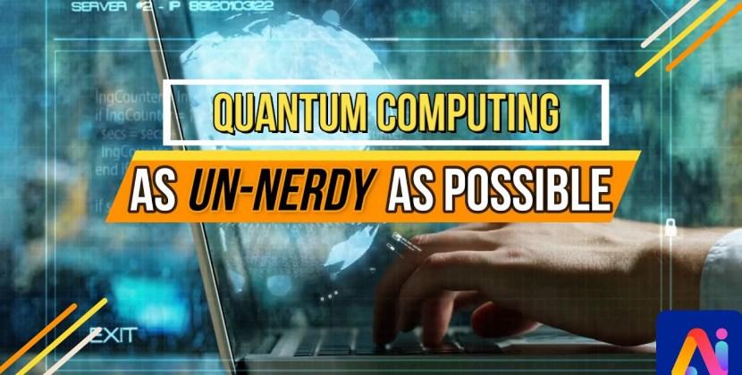 Quantum Computing in 5 minutes