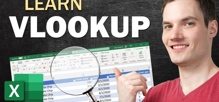 How to use VLOOKUP in Excel – Complete Tutorial