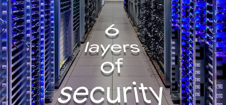 Google Data Center Security: 6 Layers Deep