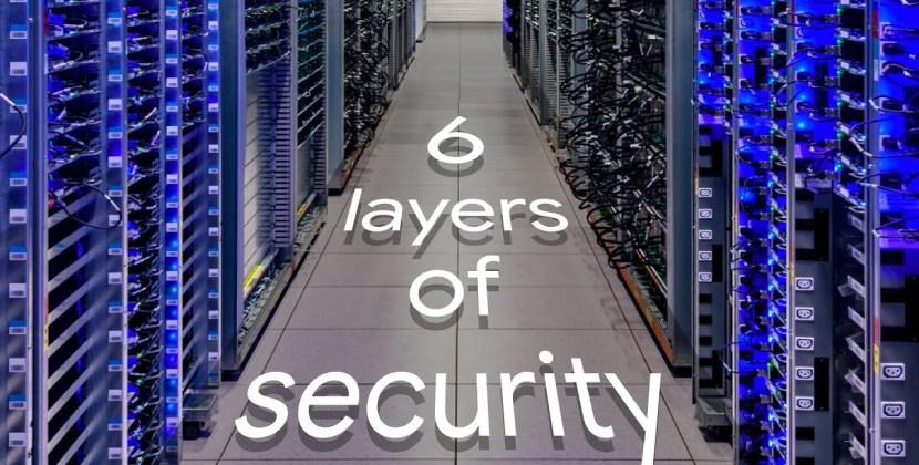 Google Data Center Security: 6 Layers Deep