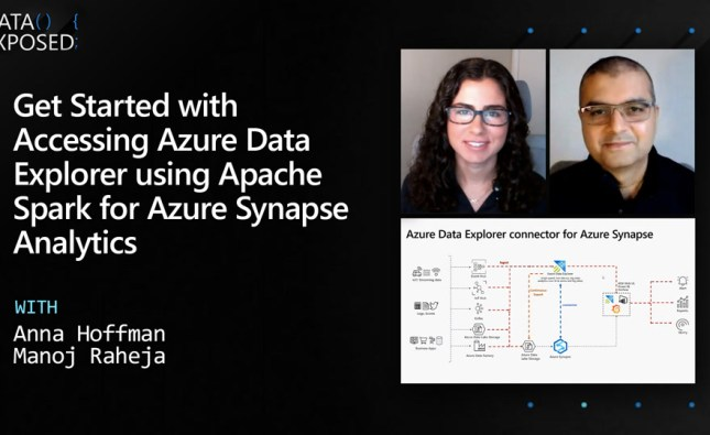Getting Started with Accessing Azure Data Explorer using Apache Spark for Azure Synapse Analytics