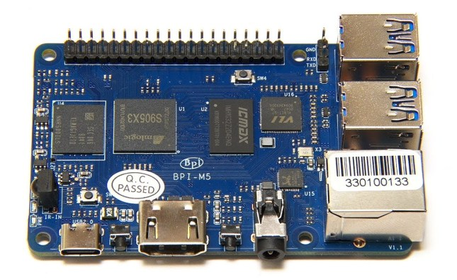 Review of the Banana Pi M5: ARM SBC with eMMC