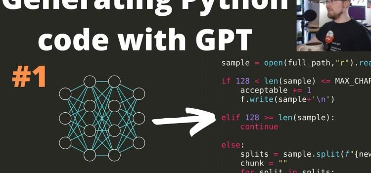 Generative Python Transformer p.1 – Acquiring Raw Data