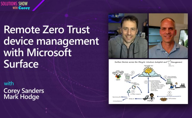 Remote Zero Trust device management with Microsoft Surface