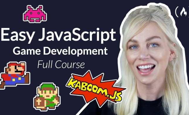 Easy JavaScript Game Development with Kaboom.js