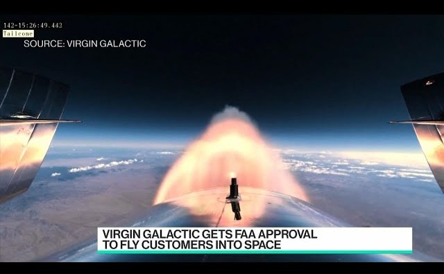 Virgin Galactic Gets FAA Approval to Fly Customers Into Space