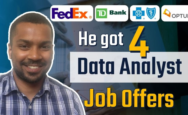 Mechanical Engineer Gets 4 Data Analyst Job Offers