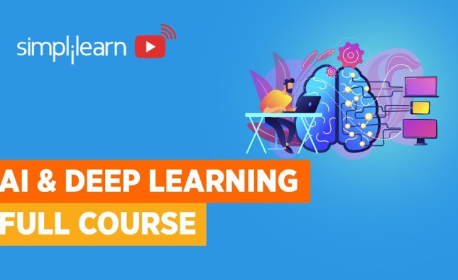 Artificial Intelligence And Deep Learning Full Course