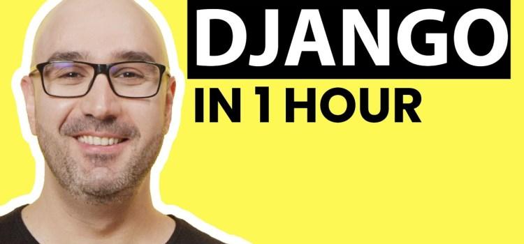 Free Django Tutorial for Beginners