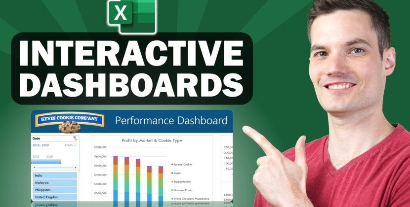 How to Build Excel Interactive Dashboards