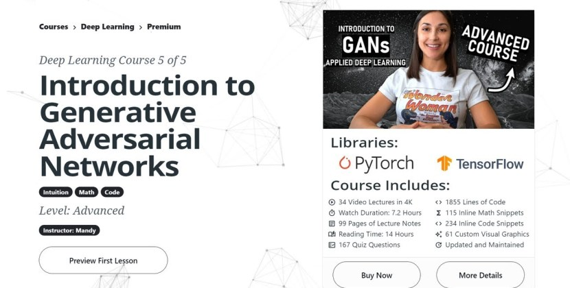 Intro to Generative Adversarial Networks (GANs) – New Course Release