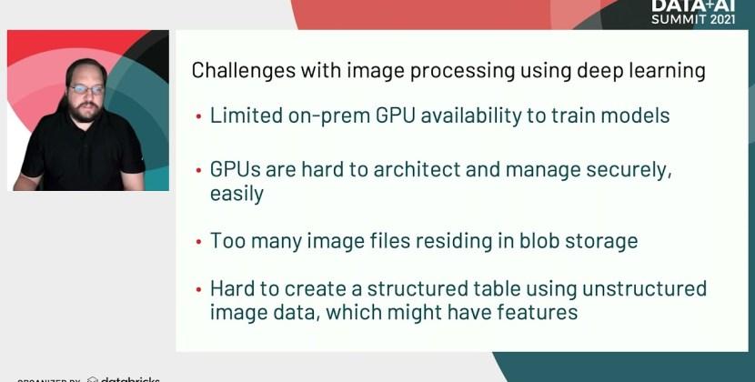 Image Processing on Delta Lake