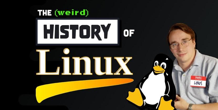 The Strange History of Linux