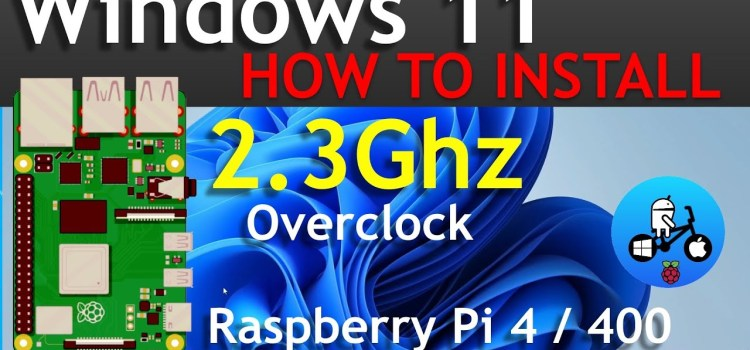 How to install Windows 11 on Raspberry Pi 4!