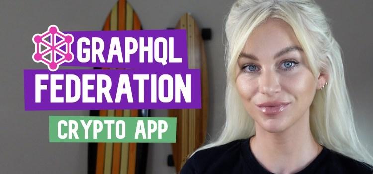 GraphQL Federation Crypto App