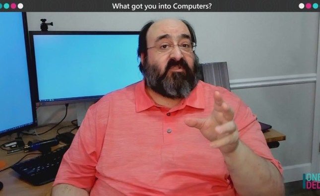 """One Dev Question with Larry Osterman: """"What got you into computers?"""""""
