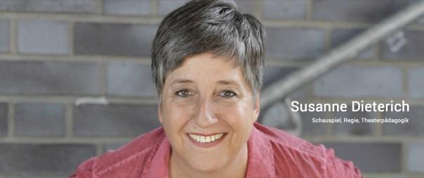 Susanne Dieterich Schauspiel, Regie, Theaterpädagogik