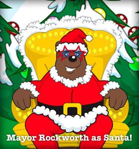 Franktown Rocks Santa