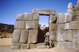 Ik zelf bij de ruïnes van Sacsayhuaman.