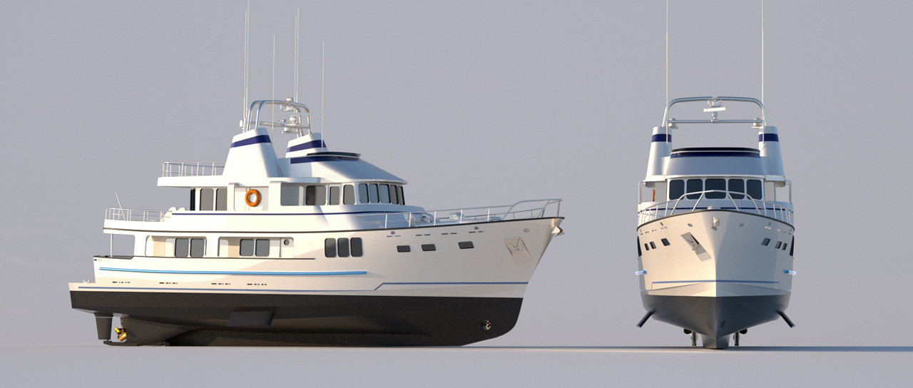Seattle Marine Yachts 3D Design Visualization FWD3D