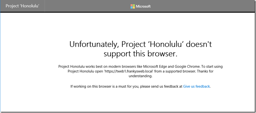 Project Honolulu