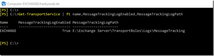 Exchange Message Tracking Logs mit PowerBI visualisieren