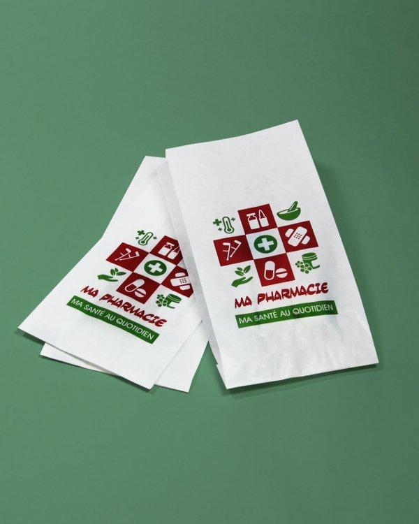 Sacs papier pharmacie small