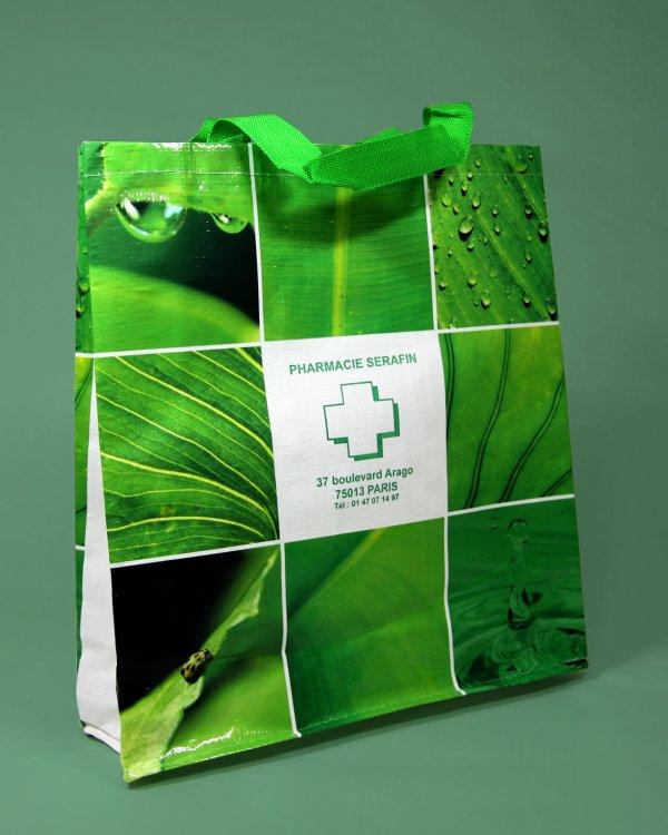 sac cabas réutilisable pharmacie