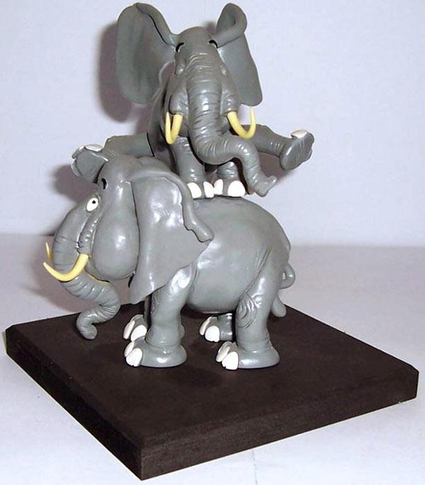 Les Elephants de Franquin - Festival de Chambéry