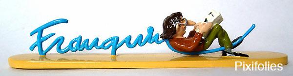 Signature Franquin lecteur