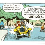 Spirou et Fantasio Citroën