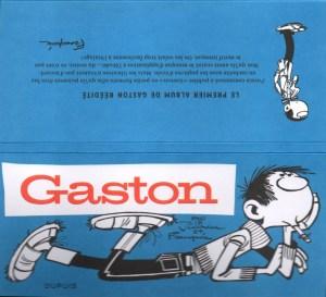Gaston Tome 0 (Fac-Similé) - Étui Collector Canal BD