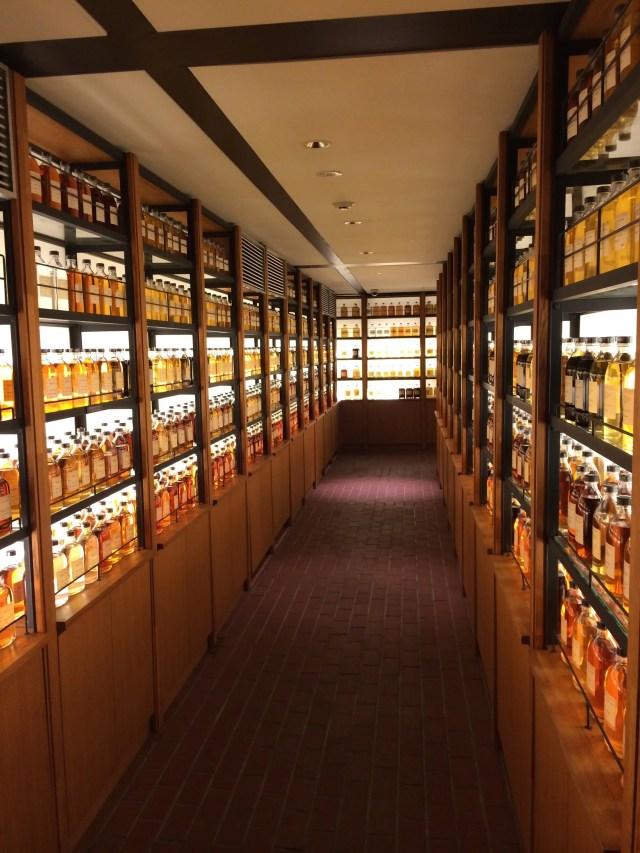 Yamazaki whisky distillery museum