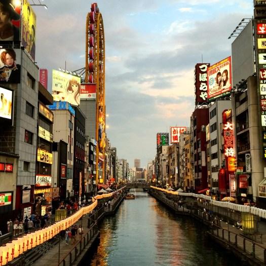 Doutonbori river, Osaka