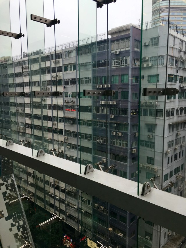 Upper part of Chungking Mansions