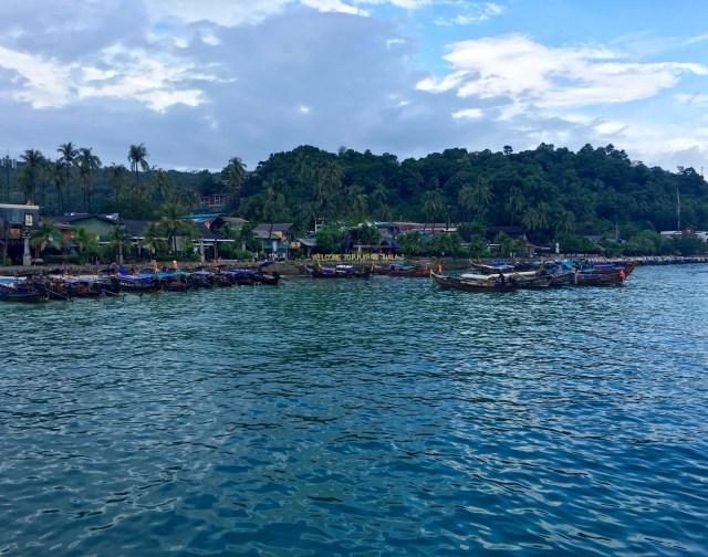 Arriving on Koh Phi Phi
