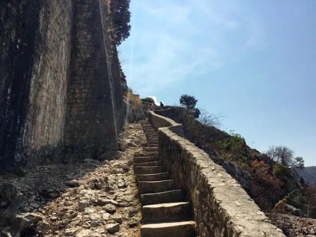 Steep climb Kotor