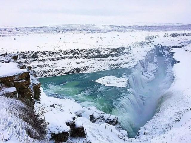 Gullfoss Waterfall on the Golden Circle tour