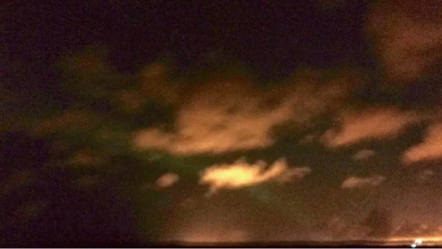 Northern Lights on an iPhone