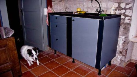 Keukenblok met Kwint