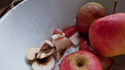 Wormstekige appels