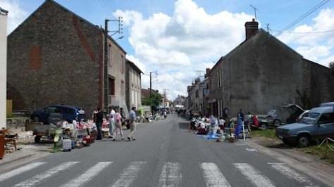 De hoofdstraat