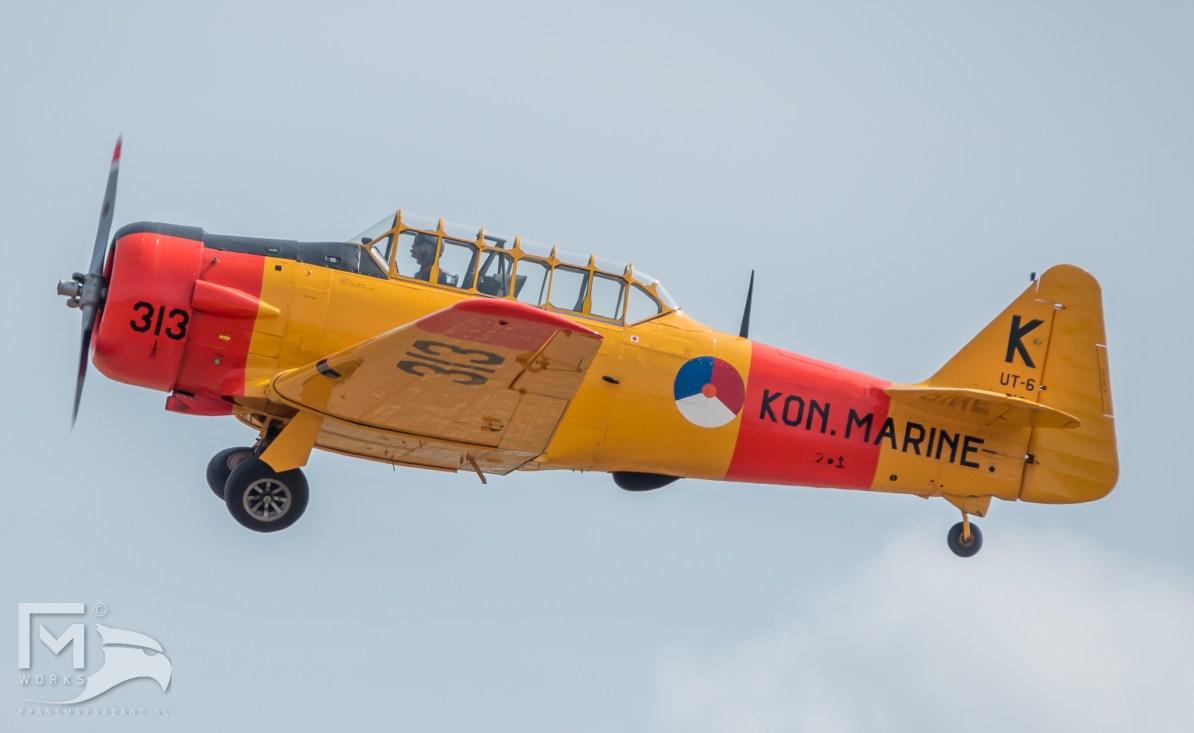 North American Harvard AT-6A Texan 313 PH-TXN Airshow Legend