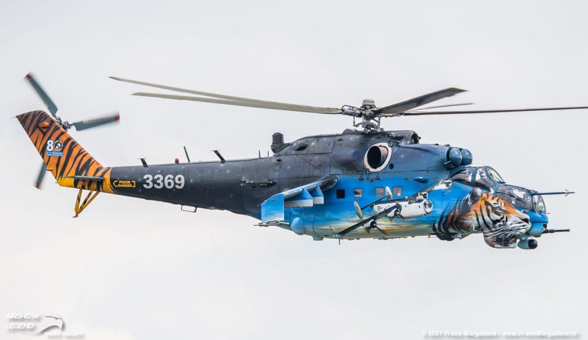 CZ Mil Mi-24V 3369 Hind Airshow Legend