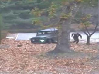 Cold War drama caught on video as N. Korean soldier escapes