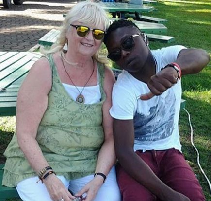 Monalisa Larson,70-year-old Swedish Ex-wife of Ugandan Singer Guvnor Ace, Dumps Her 19-year-old lover, Aziz Mawanda for Good