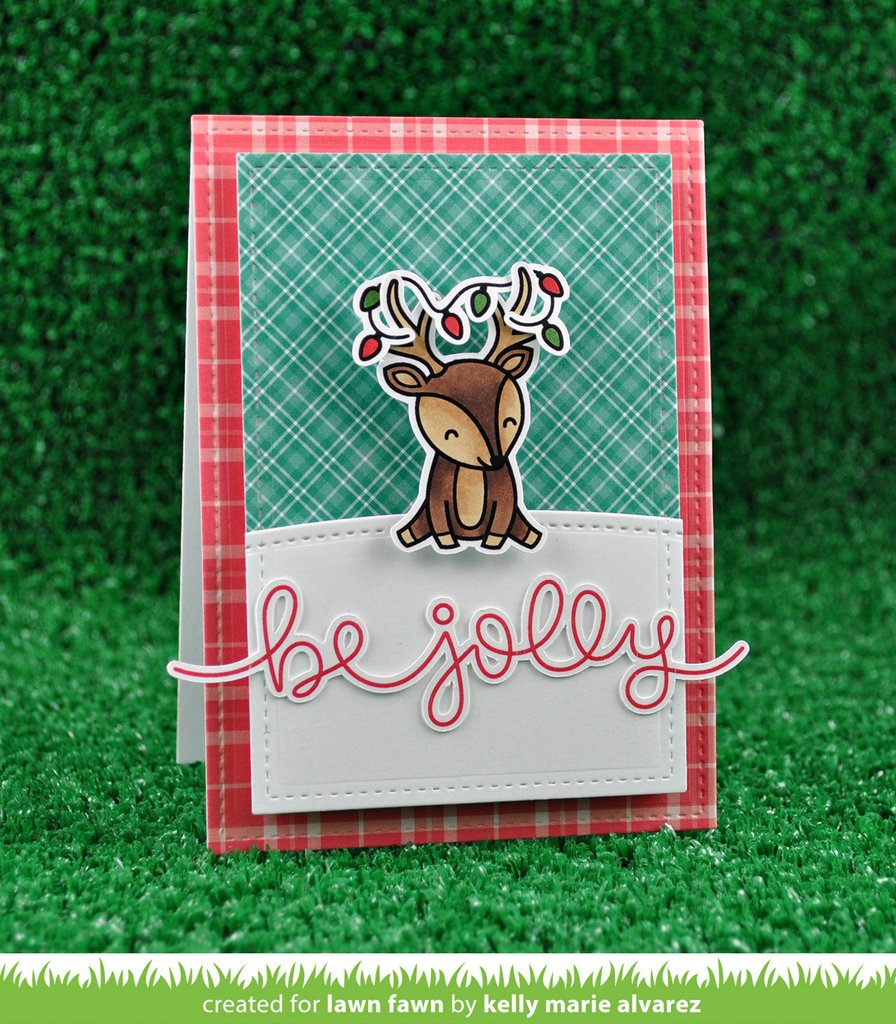 Lawn Fawn Clear Stamps Cheery Christmas